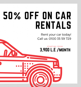 Cairo Car Rentals Sale
